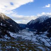 Valposchiavo panoramica_neve_Foto di Yuri Tuena