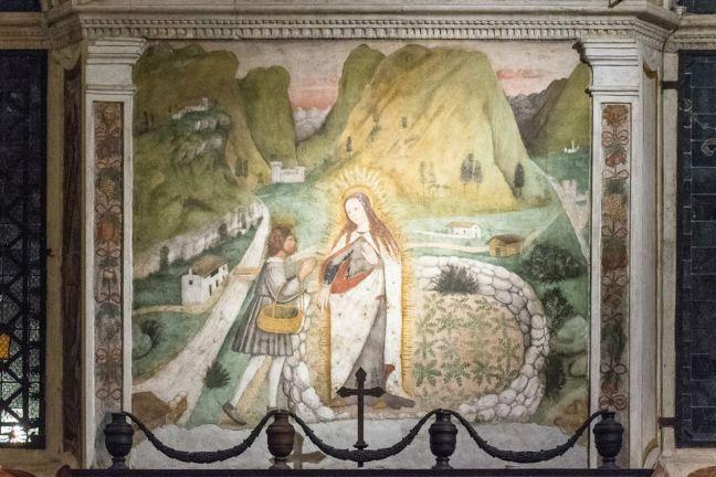 Apparizione Madonna a Tirano