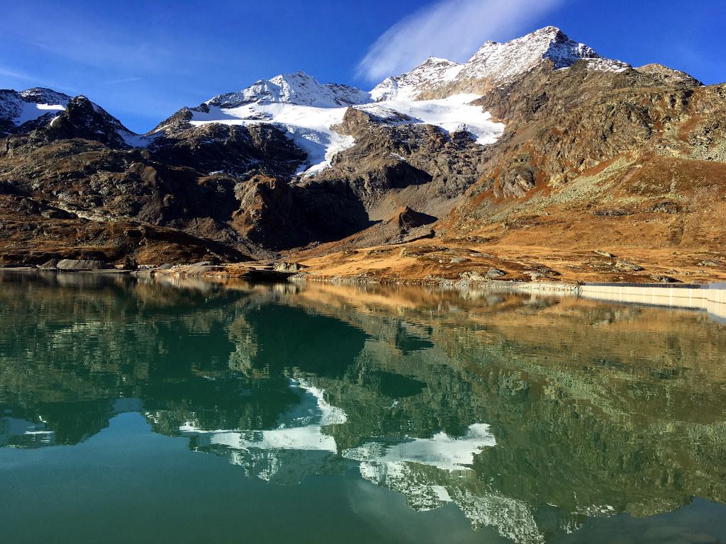 Lo specchio del cambrena ilbernina - Ristorante lago lo specchio ...
