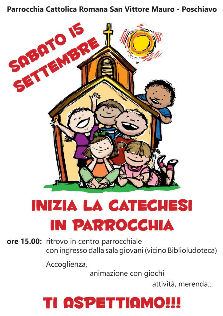 Inizio catechismo 2018