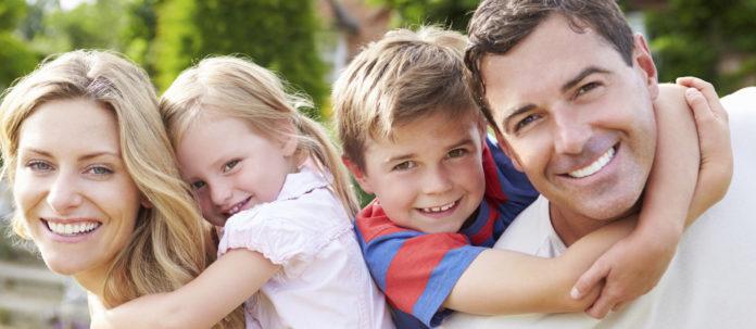 Immagine di una famiglia felice