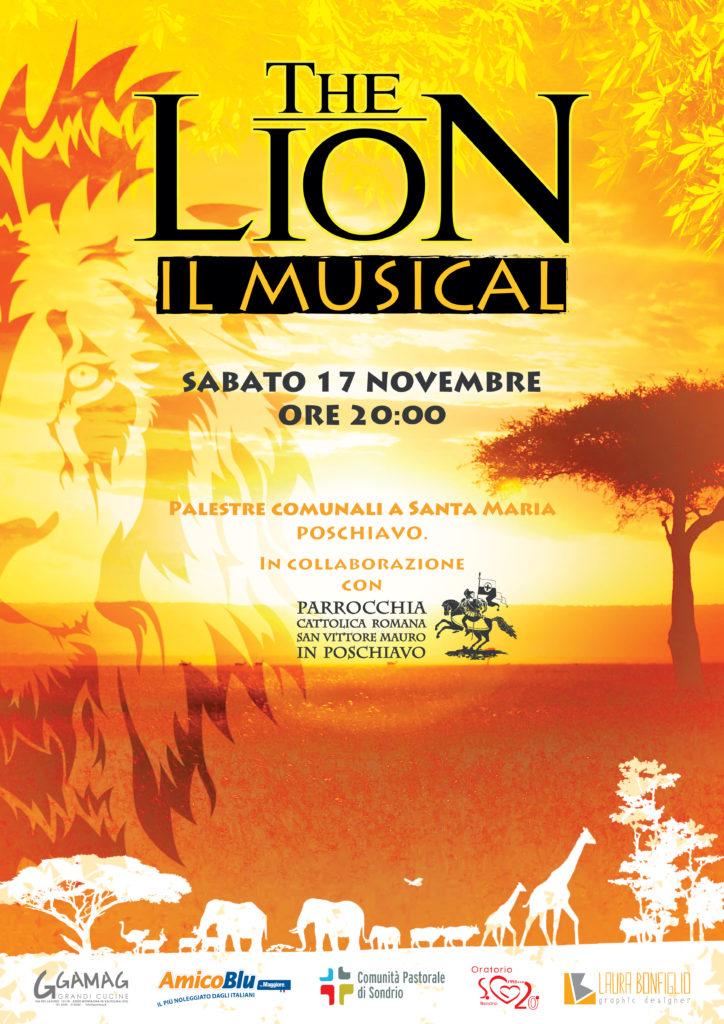 "A Poschiavo ""The Lion - Il musical"""