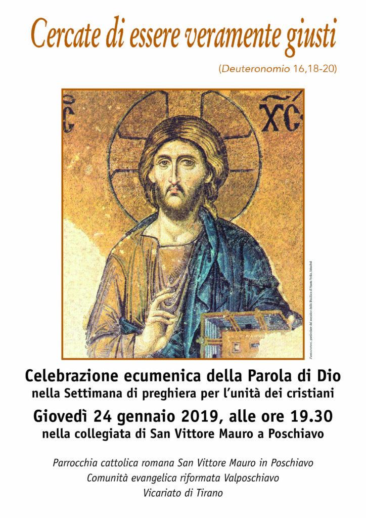 Manifesto preghiera ecumenica