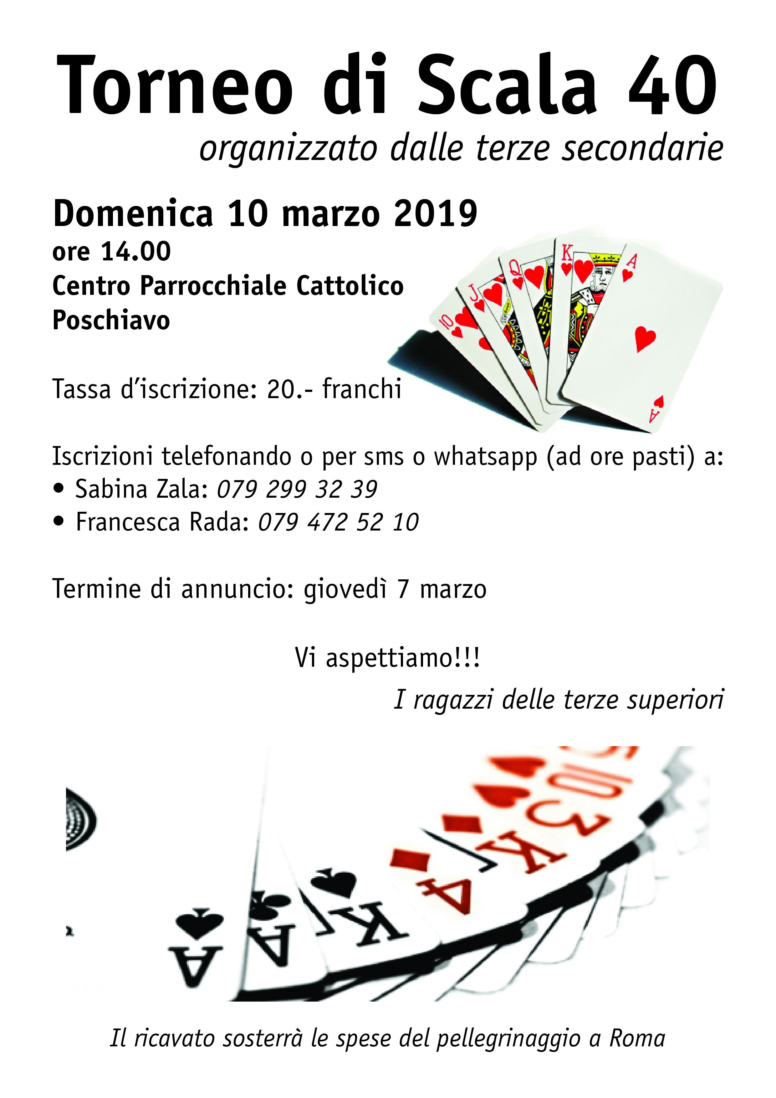 Torneo di Scala 40