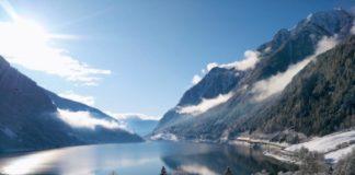 Lago, Le Prese, neve