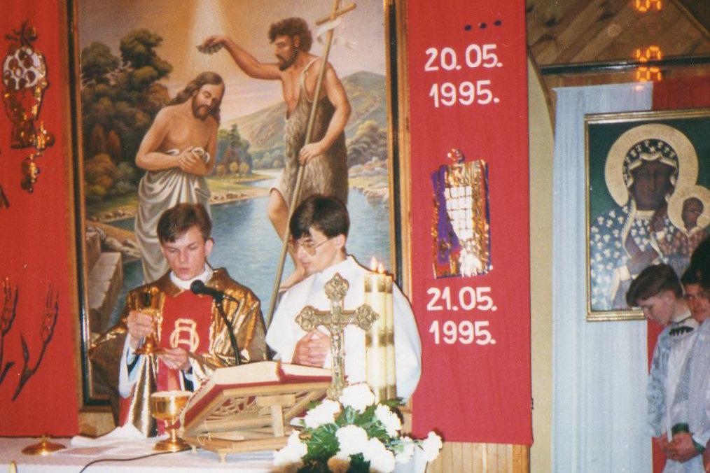 Prima Messa di don Witold Kopeć