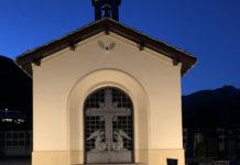 Cappella del cimitero cattolico di Poschiavo